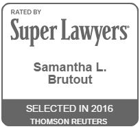 Super Lawyers - Samantha L. Brutout Badge
