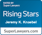 Super Lawyers - Jeremy K. Knaebel Badge